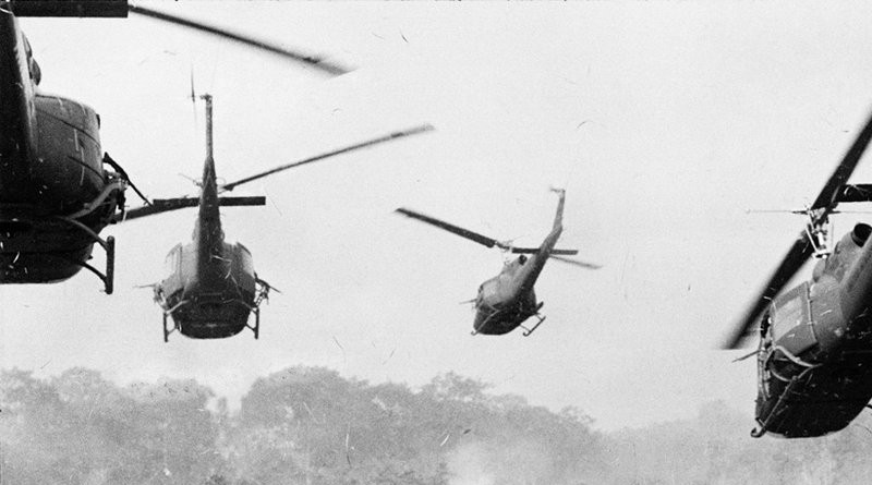 Vietname Hueys Taking Off