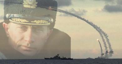 Putin Kalibr Ship Missile Launch