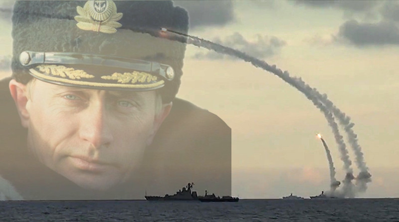 Putin Kalibr Ship Missile Launch
