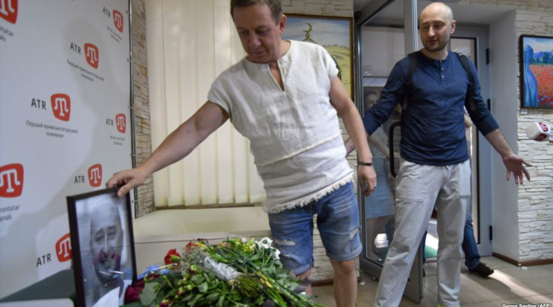 Babchenko's Own Mortuary