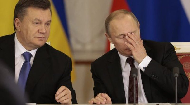 Yanukovych in meeting with Putin