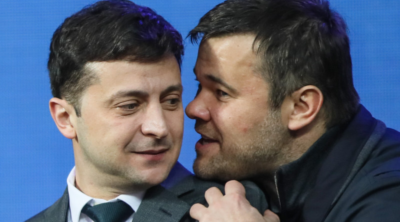 Zelensky and Advisor