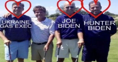 Joe and Hunter Biden together with an Ukrainian Oil Executive